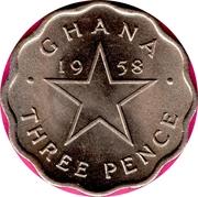 3 Pence - Elizabeth II – reverse