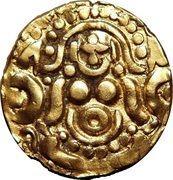 Dinar - Mu'izz al-din Muhammad b. Sam - 1193-1206 AD (Kannauj mint) – obverse