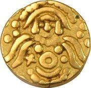Dinar - Mu'izz al-din Muhammad b. Sam - 1193-1206 AD (Bayana mint) – obverse