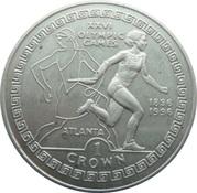 1 Crown - Elizabeth II (Female Relay Runner) -  reverse