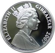 5 Pounds - Elizabeth II (History of the RAF-Spitfires in flight) – obverse