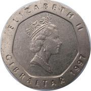 20 Pence - Elizabeth II (3rd portrait) -  obverse