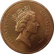 1 Penny - Elizabeth II (3rd portrait; non-magnetic) – obverse