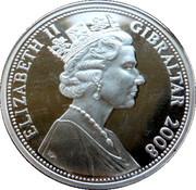 5 Pounds - Elizabeth II (Grave Stones) – obverse