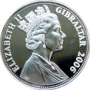 5 Pounds - Elizabeth II (Concorde's London to Sydney Record) – obverse