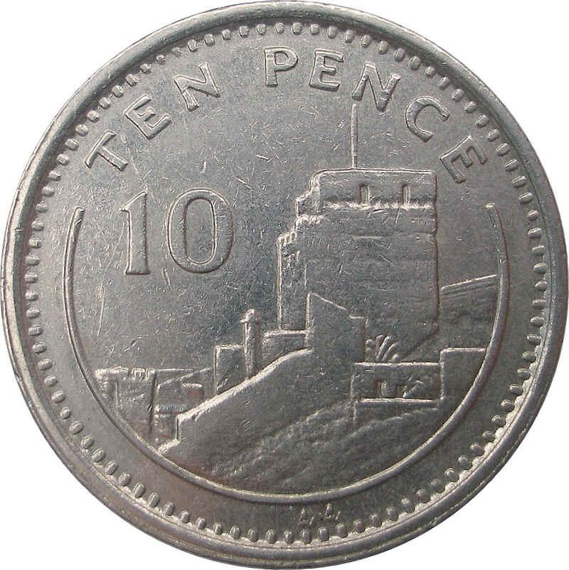elizabeth 10 pence coin in indian rupees