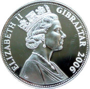 5 Pounds - Elizabeth II (First Supersonic Flight of Concorde) – obverse