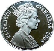 5 Pounds - Elizabeth II (Queen Elizabeth sat on Throne) – obverse