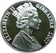 5 Pounds - Elizabeth II (Flypast) – obverse