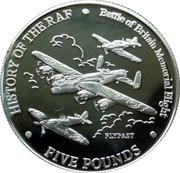 5 Pounds - Elizabeth II (Flypast) – reverse