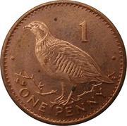 1 Penny - Elizabeth II (Barbary Partridge) – reverse