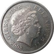 10 Pence - Elizabeth II (4th portrait) – obverse
