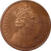 1 Penny - Elizabeth II (300th Anniversary of British Occupation) – obverse