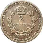 2 Quartos (Richard Cattons) – reverse