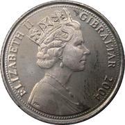 10 Pence - Elizabeth II (Occupation) – obverse