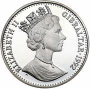 35 ECUs / 25 Pounds - Elizabeth II – obverse