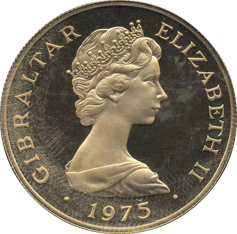 100 Pounds Elizabeth Ii British Pounds Sterling Gibraltar