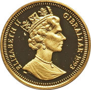1/5 Crown - Elizabeth II (General Sikorski) – obverse