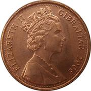1 Penny - Elizabeth II (Mace of the House of Assembly) – obverse