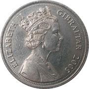 10 Pence - Elizabeth II (3rd portrait; The Great Siege 1779 -1783) – obverse
