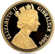 10 Pounds - Elizabeth II (80 Glorious Years) – obverse