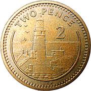 2 Pence - Elizabeth II (3rd portrait) -  reverse