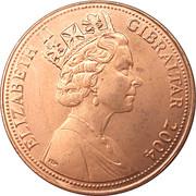 2 Pence - Elizabeth II (Occupation) – obverse