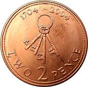 2 Pence - Elizabeth II (Occupation) – reverse
