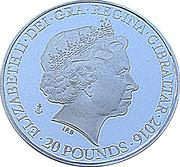 20 Pounds - Elizabeth II (Battle of the Atlantic) – obverse