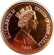5 Pounds - Elizabeth II – obverse
