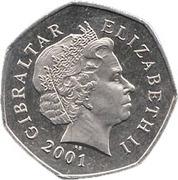 50 Pence - Elizabeth II (Christmas) – obverse