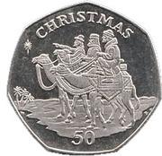 50 Pence - Elizabeth II (Christmas) – reverse