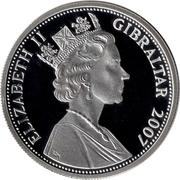 5 Pounds - Elizabeth II (Diamond Wedding) – obverse