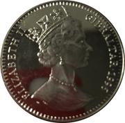 2.8 Ecus - Elizabeth II (Austrian Knight) – obverse