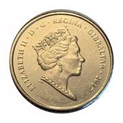 5 Pence - Elizabeth II (1967 Referendum Anniversary) -  obverse