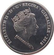 10 Pence - Elizabeth II (New Calpe House) -  obverse