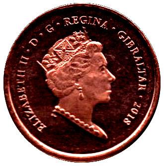 2018 Gibraltar £2 Calpe House Coin