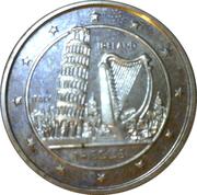 14 ECUS - Elizabeth II (Leaning Tower - Irish Harp) – reverse