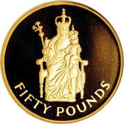 50 Pounds - Elizabeth II (British Pound Sterling) – reverse