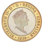 2 Pounds - Elizabeth II (The Nemean Lion) -  obverse