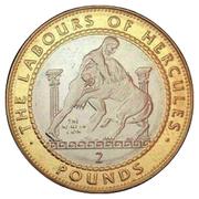 2 Pounds - Elizabeth II (The Nemean Lion) -  reverse