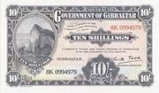 10 Shillings (World Tourism) – obverse
