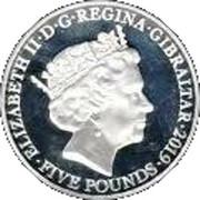 5 Pounds - Elizabeth II (Ombudsman) – obverse