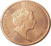 1 Penny - Elizabeth II (2019 Island Games) – obverse