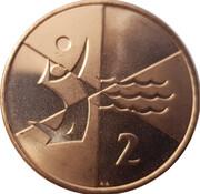 2 Pence - Elizabeth II (2019 Island Games) – reverse