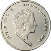 5 Pence - Elizabeth II (2019 Island Games) – obverse