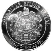 15 Pounds - Elizabeth II (Silver £15 Royal) – reverse