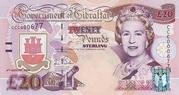 20 Pounds 2004 - Tercentenary of British Rule – obverse