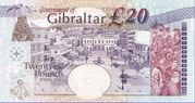 20 Pounds 2004 - Tercentenary of British Rule – reverse