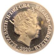 5 Pounds - Elizabeth II (Let the Battle Commence; sovereign) – obverse